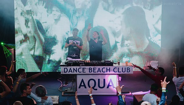 Ночной клуб «Aquadance Beach Club» - Курортный комплекс «Аквамарин» (Aquamarine Resort & SPA)